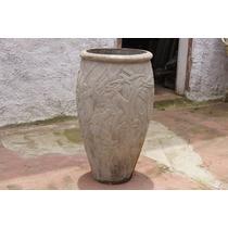 Belo Vaso De Cimento Modelo Amazonas Médio.