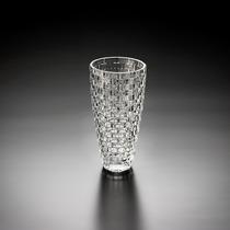 Vaso De Cristal Degrade 30 Cm - Cristais Wolff - 2742
