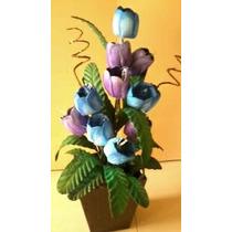 Arranjos Com Flores Em Eva