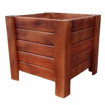 Cachepo De Madeira Grande 40x40 Para Plantas/caixa/vaso