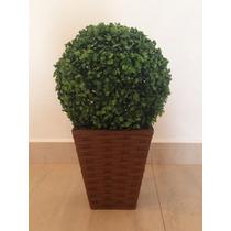 Vaso Com Planta Artificial Decorativo