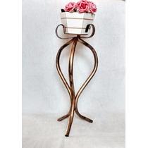 Suporte Para Planta/vaso Em Ferro Pedestal Pequeno Oferta