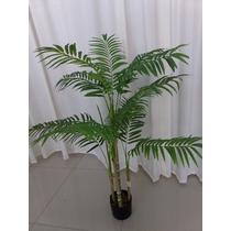 Planta Árvore Artificial Palmeira Familia 110 Cm