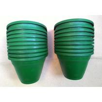 12 Vasos De Parede G Verde P/ Jardim De Inverno E Suculentas