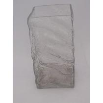 Vaso De Vidro Valente Transparente 20 Cm