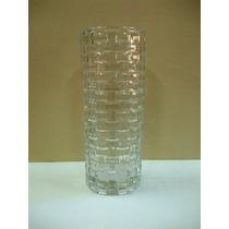 Vaso De Vidro Transparente Transado