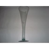 Vaso De Vidro - Decorativo Transparente -