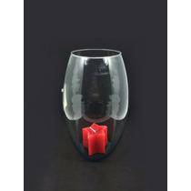 Vaso De Vidro Para Decoraração De Festas Casamentos 22cm