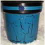 Emb. Com 5 Peças - Vaso De Resina Imita Cerâmica Artesanal