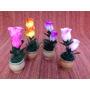 Vaso Para Decoração Com Flores Artificiais.