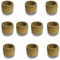 10 Vasos Xaxim De Palmeira T1 Para Orquídeas E Samambaias