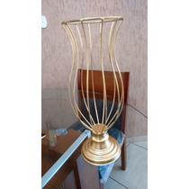 Kit 2 Vasos Armação Para Pedrarias 45cm Dourado