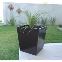 Promoção Vasos Decorativos De Fibra De Vidro Quadrado M