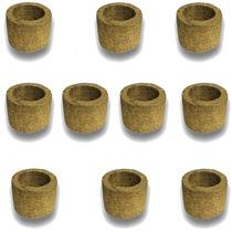 10 Vasos Para Orquídea Xaxim De Palmeira T2 Ecológico