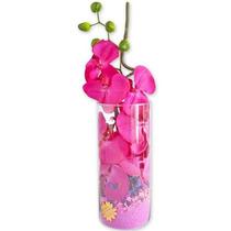 Arranjo Floral - Orquídea Exótica Rosa Choque