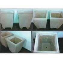 Vasos De Cimento Decorativo Para Plantas