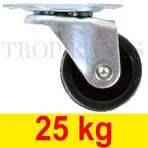 Roda Para Suporte De Vasos E Móveis Anti Risco Anti Ruido