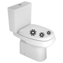 Adesivo Decorativo Para O Banheiro - Vaso Sanitário Kit 1