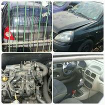 Sucata Motor Cambio Renault Clio Senic 2003