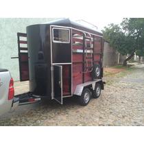 Trailer Carretinha Dois Cavalos