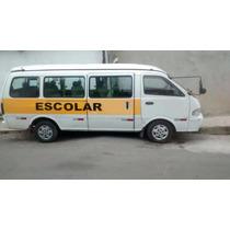 Kia Besta 2001 16 Lugares Diesel Van Escolar Òtimo Estado