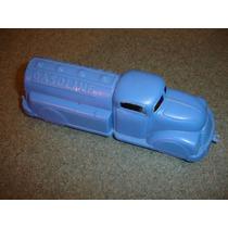 Brq- Caminhão Gasolina Anos 50/60 15x4x5cm Plast. Maleável