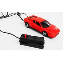 Antiga Ferrari De Controle Remoto Com Cabo Não Funciona