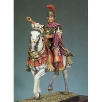 Roma Antiga General Cesar Cavalo 9x5 100% Chumbo