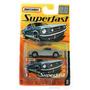 Miniatura Matchbox Superfast Ford Mustang Gt 1965 - Mattel