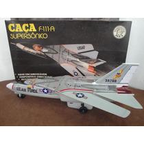 Caça Super Sonico F 111 A = Brinquedos Rei - Impecavel - Sho