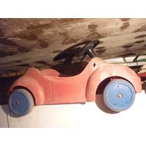 Pedalcar Fusca Bandeirante Brinquedo Antigo Fusquinha Pedal