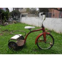 Triciclo Dois Irmaos Pedal Car Tico Tico Bandeirantes Antigo