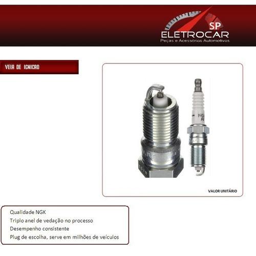 Vela De Ignição Ngk V Power Gm S10 4.3 V6 96 Em Diante