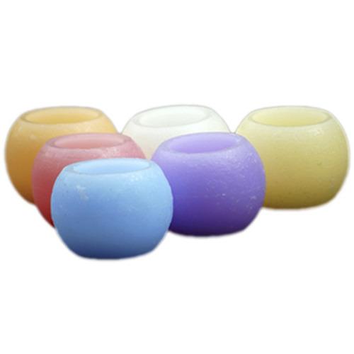 Vela De Led Coloridas E Aromatizadas - Kit Com 2 Unidades