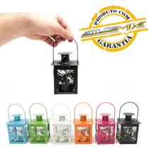 Mini Luminária Decorativa Metal Diversas Cores