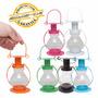 Mini Lanterna Decorativa Lampião Metal Diversas Cores