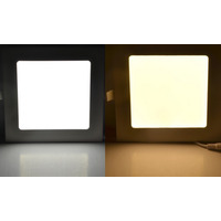 Painel Luminária Plafon Led 18w Embutir Alumínio Branco Bvlt