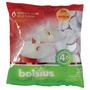 Luzes De Chá - Embalagem De 30 Branco Bolsius 4 Horas Queim