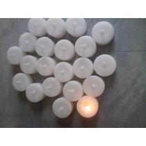 Vela Flutuante Refil Para Luminárias Kit Com 10 Velas