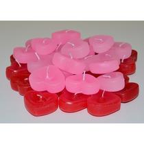 Mini Coração Flutuante - Pacote Com 100 Unidades