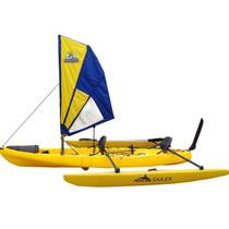 Vela Flying Fox Para Caiaque Grátis Kit Alças Omegas