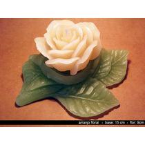 Velas Decorativas - Arranjo Floral