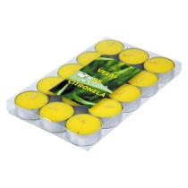 Caixa Com 15 Velas Rechauds De Citronela - Repelente Natural