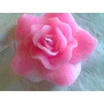 Velas Rosas Grandes Flutuantes - Para Piscina