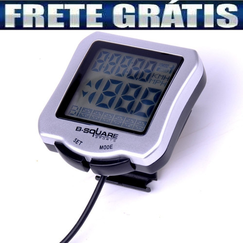 Velocímetro Cronometro Odômetrol Digital P/ Bike 30 Funções
