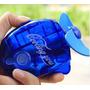Mini Ventilador Eletrico Agua De Mão Refrescante À Pilha