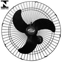 Ventilador Oscilante Parede 60cm Preto Vent New Mais Potente