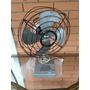 Ventilador Antigo Dinamo Metal 110w Funcionando Retro
