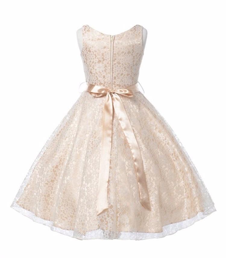 d3046db90a Vestido Festa Infantil juvenil Renda Casamento Daminha Dama (Vestidos  Médios) a BRL 149.9 em PrecioLandia Brasil (cbbt67)