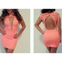 Lindo Vestido Em Renda. Coleção 2014